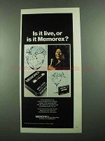 1976 Memorex MRX2 Oxide Tape Advertisement - Ella Fitzgerald