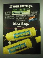 1976 Monroe Max-Air Air Adjustable Shocks Ad