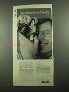 1976 Minolta SR-T202 Camera Ad - Ask a Friend About