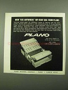 1976 Plano No. 8106 Tackle Box Ad - Use Anywhere