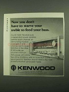 1976 Kenwood KR-9600 Receiver Ad - Feed Your Bass