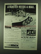 1993 Recreatives Industries Max and Max IV ATV Ad