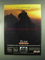 1993 Avon Elan Tires Ad - Get Carried Away