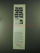 1993 Honda Motorcycles Ad - Important Self-Help book
