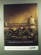 1993 Suzuki Intruder 1400 Motorcycle Ad - Stop Shaving