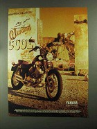 1993 Yamaha Virago 535 Motorcycle Ad - Always Cool