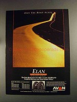 1992 Avon Elan Tires Ad - Own the Road Again