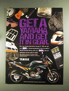 1992 Yamaha Seca II Motorcycle Ad - Get it In Gear