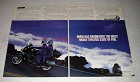 1992 BMW K1100LT Motorcycle Ad - Evolved State of Fun