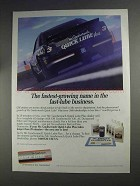 1991 Mr. Goodwrench Quick Lube Plus Ad - Dale Earnhardt