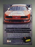 1991 Champion Scorcher Battery Advertisement - Live a Fast Life