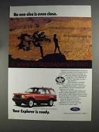 1991 Ford Explorer Advertisement - No One Else is Even Close