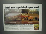 1991 Thompson's Wood Protector Advertisement - Never a Good Day