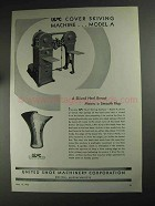 1936 USMC Ad - Cover Skiving Machine Model A