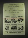 1936 Chevrolet Cars Ad - All The Things You Hoped