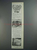 1927 South Africa Tourism Advertisement