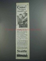 1927 Seattle Tourism Ad - Come to Charmed Land