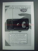 1927 Corbin Night Latch 472 Ad - Good Buildings Deserve