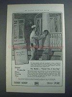 1915 Ivory Soap Ad - Helpful Recipes for House-Cleaning