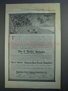 1914 Electric Storage Battery Exide Batteries Ad