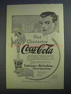 1913 Coca-Cola Soda Ad - Has Character