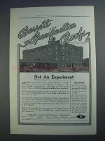 1913 Barrett Specification Roofs Ad - Not an Experiment