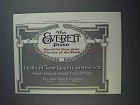 1913 Everett Piano Ad - Leads in Tone Quality