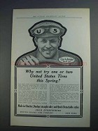 1912 United States Tires Ad - Why Not Try One or Two