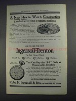 1912 Ingersoll-Trenton Watch Ad - A New Idea