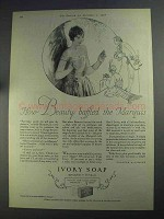 1925 Ivory Soap Ad - Beauty Baffled the Marquis
