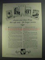 1925 Ivory Flakes Ad - Cleanse Your Finer Things