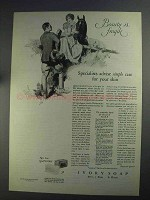 1925 Ivory Soap Ad - Beauty is Fragile