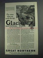 1925 Great Northern Railroad Ad - The Views Alone