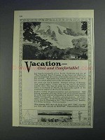 1925 Seattle Washington Ad - Vacation Cool Comfortable