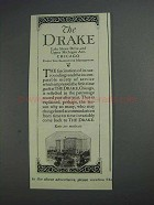 1925 The Drake Chicago Hotel Ad