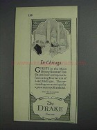 1925 The Drake Chicago Hotel Ad - In Chicago