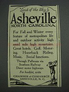 1925 Asheville North Carolina Ad