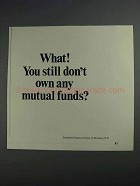 1968 Investment Company Institute Ad - Mutual Funds