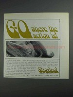 1968 Stardust Hotel Ad - Go Where the Action Is