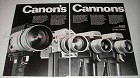1968 Canon Movie Camera Ad - 88C, 87C, 86C and 89C