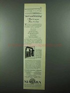 1931 Niagara Air Conditioner Ad - What it Means