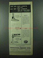 1931 Youngstown Pressed Steel Ad - Builds Ironers
