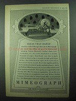 1931 A.B. Dick Mimeograph Ad - Ideas That Hatch