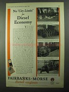 1931 Fairbanks-Morse Diesel Engines Ad - No City Limits