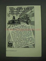 1931 Jacobsen 4-Acre Power Lawn Mower Ad - Preference