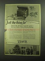 1923 Ansco Camera Take-A-Picture-Package Ad