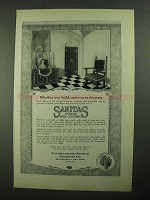 1923 Sanitas Wall Coverings Ad - Build Move Re-Decorate
