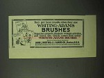 1923 Whiting-Adams Brushes Ad - Get Best Results