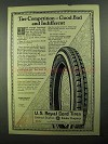 1922 U.S. Royal Cord Tires Ad - Good Bad Indifferent