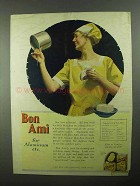1922 Bon Ami Cleanser Ad - For Aluminum etc.